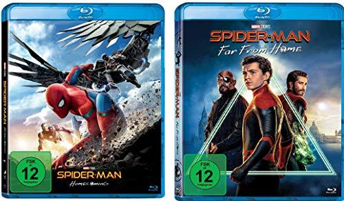 Spider-Man Homecoming + Far From Home im Set - Deutsche Originalware [2 Blu-rays]