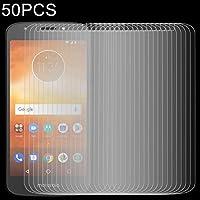 強化ガラスフィルム 50 PCS 0.26mm 9H 2.5D強化ガラスフィルム(モトローラモトE5用) スクリーンプロテクター