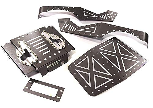 Integy RC Model Hop-ups C27671GUN Aluminum Alloy Body Panel Kit for Axial 1/10 Wraith 2.2 Rock Racer