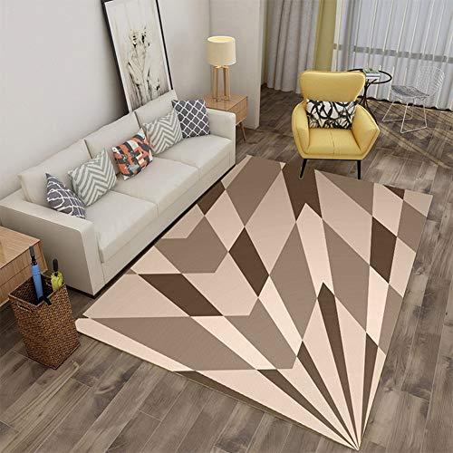 Fashion Carpet, Creative Rugs, Color Printing 3D Art Restaurant Mat Soft Home Living Room Bedroom Non-Slip Personality Rectangular Decoration Fleece Carpet,3,80 * 120CM