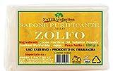 10 X SAPONE NATURALE ALLO ZOLFO 100 G TOTALE 1 KG sapone pelli grasse antiacne