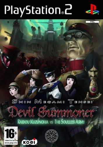 Tecmo Koei Shin Megami Tensei: Devil Summoner Raidou Kuzunoha vs. The Soulless Army, PS2