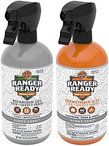 Ranger Super intense SALE Ready P2Pak Permethrin + Tick Picaridin Insect New Free Shipping 20% Repe