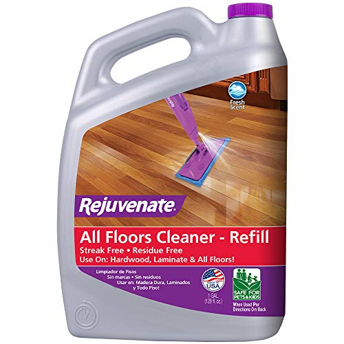 Product Image of the Rejuvenate High Performance All-Floors and Hardwood No Bucket Needed Floor Cleaner Powerful PH Balanced Shine with Shine Booster Technology Low VOC Best in Class Products 128oz