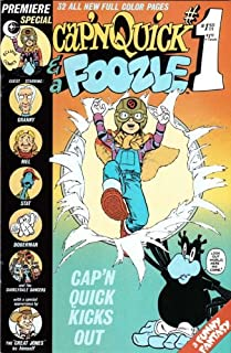 CAPN QUICK AND THE FOOZLE # 1-3 by Marshall Rogers complete series (CAPN QUICK AND THE FOOZLE (1984 ECLIPSE))