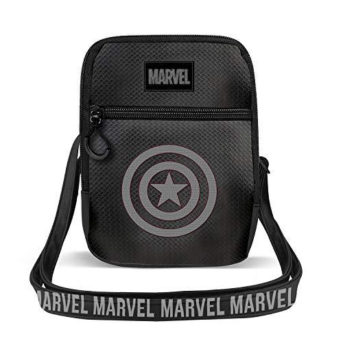 KARACTERMANIA Capitán América Shield-Bolso Sling TPU, Multicolor