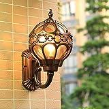 Lámpara de pared moderna para exteriores, impermeable, lámpara...
