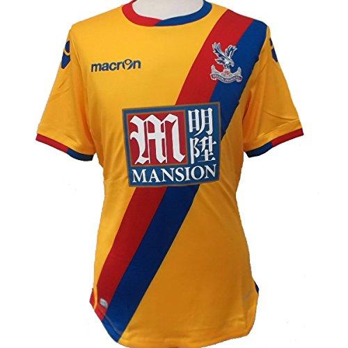 Macron Crystal Palace FC Herren Fußballtrikot 2016/17 - UK-Small (EU-M)