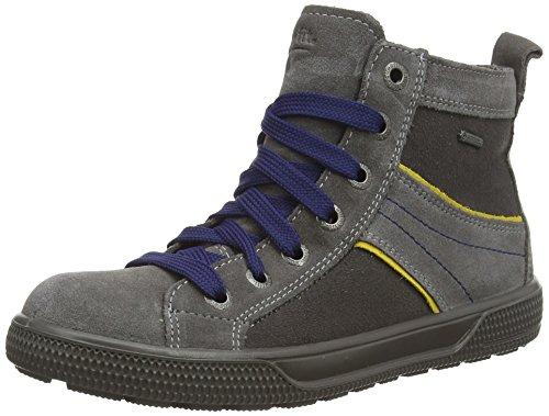Superfit SWAGY 500457, Jungen Hohe Sneakers, Grau (STONE KOMBI 06),  38 EU