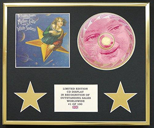 The smashing Pumpkins/CD display/limitata edizione/certificato di autenticità/Mellon Collie and the infinite Sadness