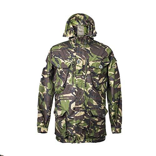 JTQMDD Camouflage Windjacke Outdoorjacke warme Jacke Trainingsanzug Kratzfest tragen Bequeme atmungsaktive Jagdanzug Dschungel Jagdanzug (Size : 180/96)