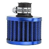 Rendeyuan Modificación del Coche Filtro de Aire Cabezal de Filtro de Aire Cabezal de Seta de Invierno pequeño Filtro de Aire Cabezal de Seta Filtro de Aire de 12 mm - Azul