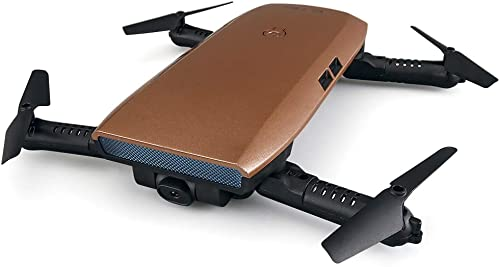 YFQH Drohne,Fernbedienung Flugzeuge Einknopf Falten Vier-achsen Flugzeuge Luft Drone Schwerkraft Ferngesteuerte Spielzeug Flugzeuge,Flesh