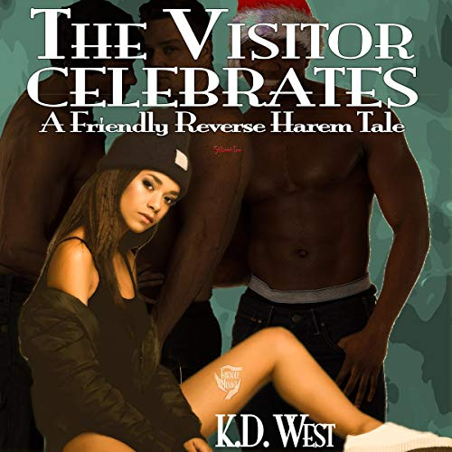 Couverture de The Visitor Celebrates (A Friendly Reverse Harem Tale)