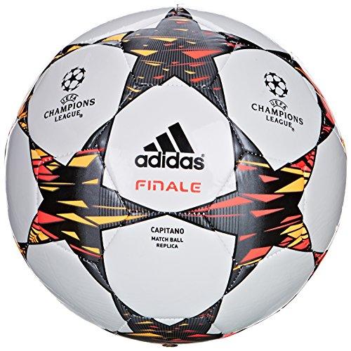 adidas Fußball Finale 2014 Capitano, Wht/Solblu/Neonor, 5