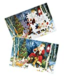 Keeping Busy Santa's Pets 60 Piece Sequenced Jigsaw Puzzle Engaging Activities/Puzzles/Games for Dementia and...