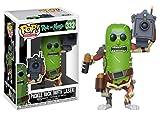 Funko Pop Rick & Morty: Pickle Rick con Laser, Multicolor, One Size (27862)