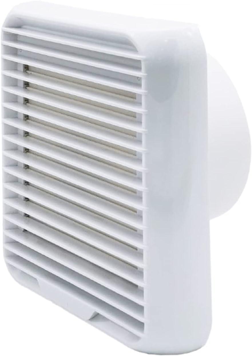 Ventilador extractor Ventilador de baño ventilador de ventilador de viento Tipo de obturador Tipo de escape Ventilador de escape 8