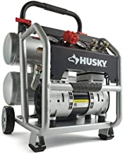 Best 4.5 gal portable electric powered silent air compressor Reviews