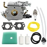 Powtol 588171156 C1Q-EL24 Carburetor fits Husqvarna 123L 223L 322C 322L 322R 323C 323L 323LD 325L 326L 326LX 326LS Trimmer Weed Eater Parts 503283401 with Air Filter Tune Up Kit