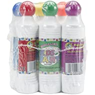 Crafty Dab Kid's Scented Shimmer Paint Markers, 1.4-Ounce, 6-Pack, Assorted Scents and Colors