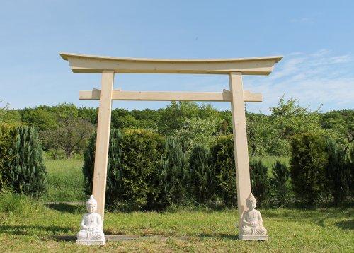 AAF Nommel®, Torii 05 Japanstyle für Haus und Garten Holzbogen Torbogen Tor