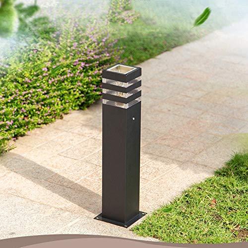 KMYX Top Spiegel Outdoor message lantaarn luxe aluminium koloniale zuil buitenlamp decoratie Courtyard Villa muur decoratie verlichting