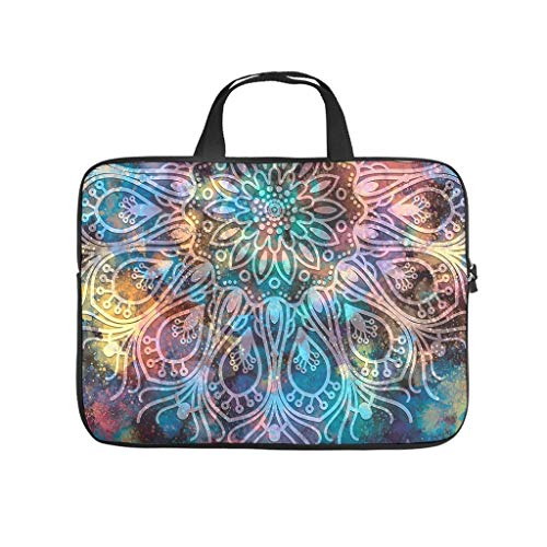 Laptop Sleeve Colorful Scratch-Resistant Slim -Handbag Compatible with 13-15.6 inch Pro White 10inch