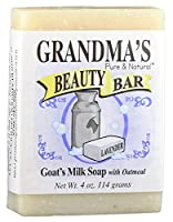 Grandma's Pure & Natural Beauty Bar Lavender Oatmeal 4 oz by GrandmaS Secret