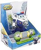 Alpha Animation & Toys- Transforming Paul Figura Transformable, Color Azul/Blanco (YW710250)