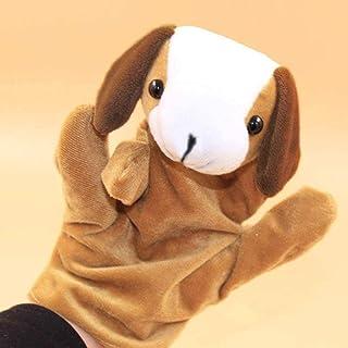 HUAGSK-01 RefreshingKJ Child Child Animal Dog F er Puppet Toy Plush Toy Fun Educational Toy Birthday Christmas Child Gift