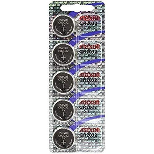 Oferta de Maxell 19040805 Pila Boton Litio CR-2032 (Blister 5 Pilas)