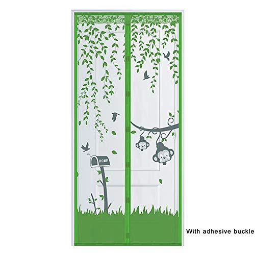 QWET magnetische deur van het gaasgordijn van Anti-Flying Creatures met sterke magneten, houdt naar buiten en laat frisse lucht binnen.