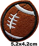 Ballon Rugby Football Américain Patch Sport Écusson Thermocollant Cameleon-Shop