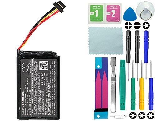 Cameron sino Akku Tomtom GO 5100 / 4FL50 / GO 6100 /4FL60 / Go 6000 / Go 5000 PRO/Truck 5250 mit 14 in 1 Reparatur Werkzeug Set Kit