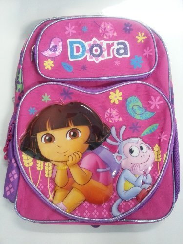 Mochila–Dora la Exploradora–Smile Dora & Botas 16'bolso de escuela nueva 630942