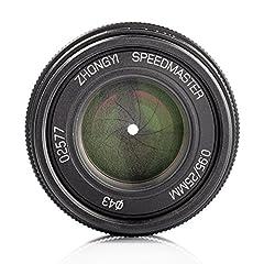 Mitakon Zhongyi Speedmaster 25mm f/0.95 Lens - Front and Rear Lens Caps - Lens Case - Mitakon 1 Year Limited Warranty Brand: Mitakon Lens Series: None Color: Black Lens Type: Standard