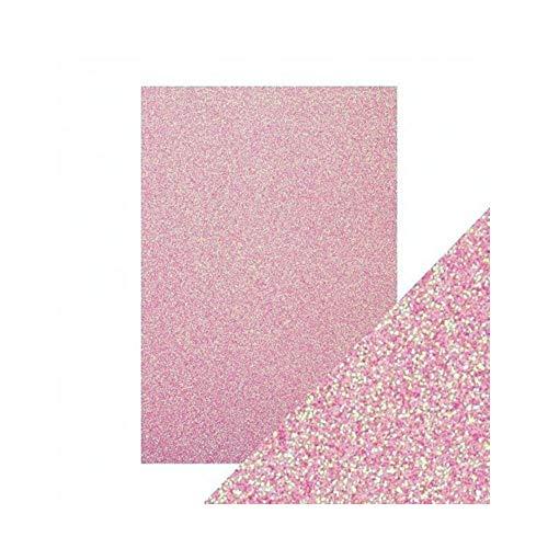 Hobby e Blu Gomma Crepla Eva Foam Moosgummi 60x40 cm 2 mm Glitter 5 Pezzi (Rosa)