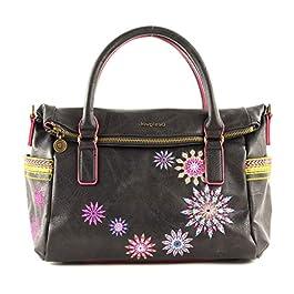 Desigual Loverty Hand Bag Marron Oscuro