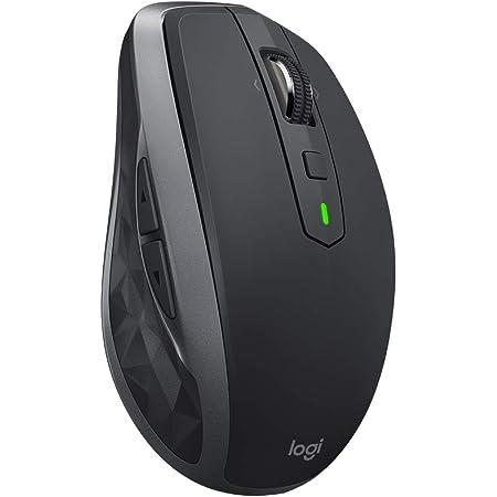 ロジクール ワイヤレスマウス 無線 マウス ANYWHERE 2S MX1600sGR Unifying Bluetooth 高速充電式 FLOW対応 7ボタン windows mac iPad OS 対応 MX1600s グラファイト 国内正規品 2年間無償保証
