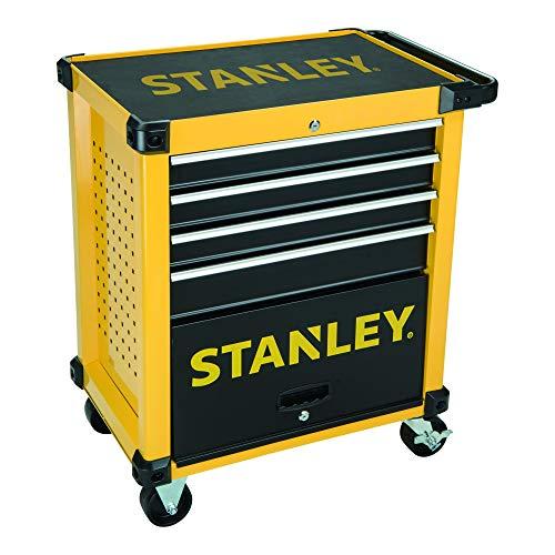 Stanley Werkstattwagen (vier Schubladen, bestückt, nine Module) FMHT0-80442