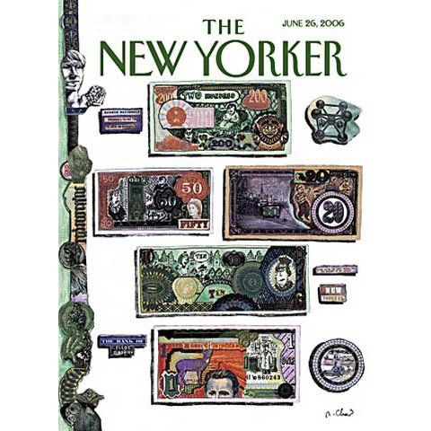 The New Yorker (June 26, 2006) cover art