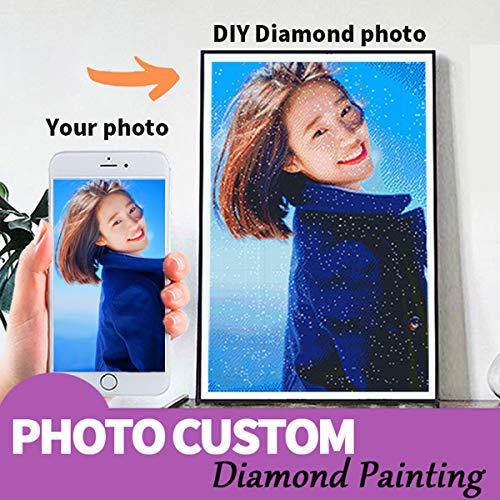 Punto De Diamante Arte De Diamante Hacer Su Propio Diamante Kits De Arte Adultos 5D Pintura De Diamantes Para La Pared De La Oficina En Casa Sala De Estar Decoración Size40X50Cm