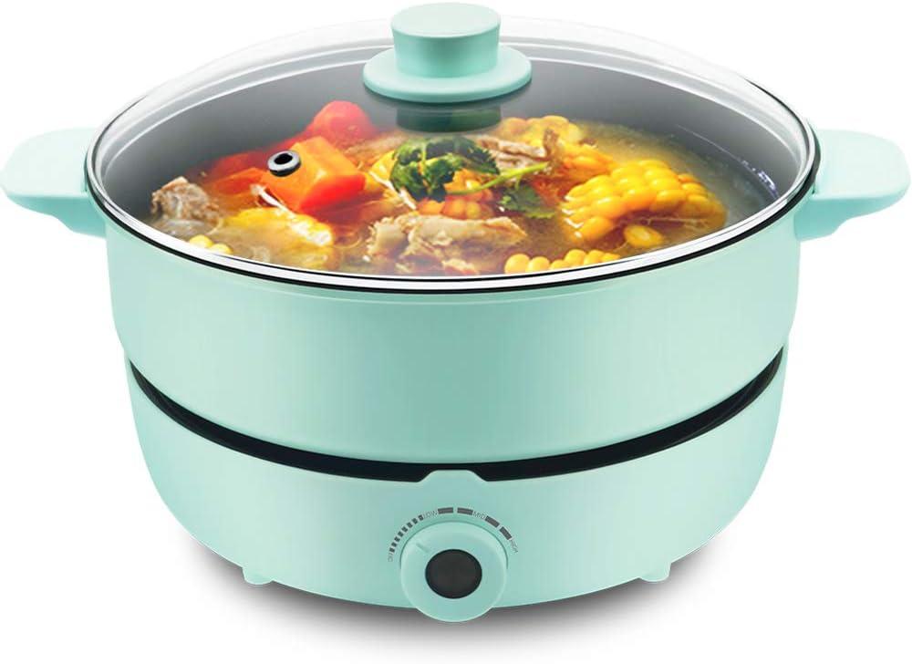 UNAOIWN Multifunction Hot Pot with Super sale Electric Shabu Burner Outlet sale feature P