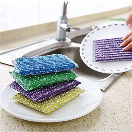 Sponzen 1 stks Sponge Bad Penseel Tegels Penseel Wassen Pot Clean Penseel Badkamer Accessoires Keuken Reiniging Penseel Was De Gerechten Artifact Scourers