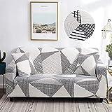 WXQY Funda de sofá elástica de algodón Puro Chaise Longue Funda de sofá elástica...