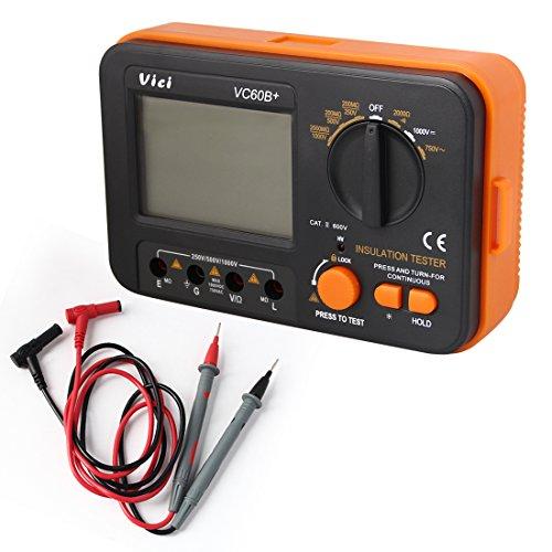Pathson VCB60 + digitaler Isolationswiderstand-Tester, MegOhm-Meter, 1000 V, 0,1 ~ 2000 MΩ