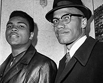 Muhammad Ali Malcolm X 1964 Poster Art Photo Hollywood Posters Artwork 11x14
