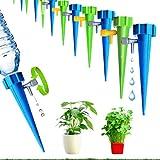 HappyHour Set di irrigazione Automatico, 12 Pezzi Irrigazione Goccia Automatica, Sistema di irrigazione pentola, per Piante,Fiori, Bonsai, Irrigatore Domestica, Automatica e Scientifica