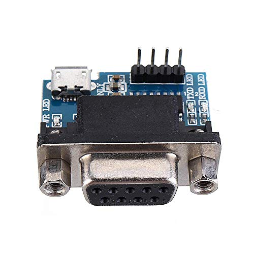 ViewSys 10 Pcs RS232 To TTL Serial Module Converter DB9 Connector MAX3232 Serial Module With Cable Spot Steuermodul